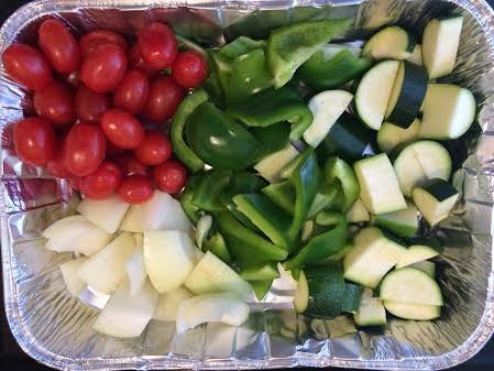 Kebabs Veggies