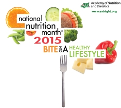 National Nutrition Month 2015