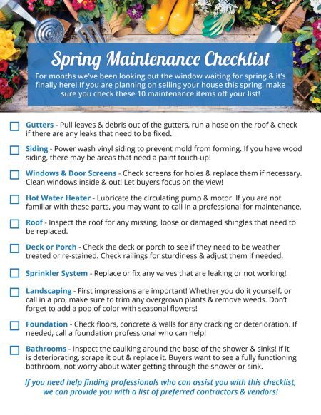 spring-maintenance-checklist